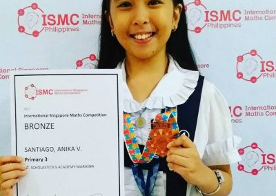 ISMC cert and medal