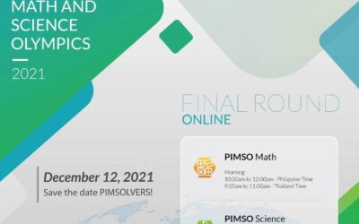 PIMSO – Maths and Science International Finals round registrations Open now.  Contest will be held online on Dec 12, 2021.  Last date of registration is 31st October 2021.   Invite with all details has been emailed to all eligible students who qualified by winning Gold/Silver/Bronze/Achiever Awards.